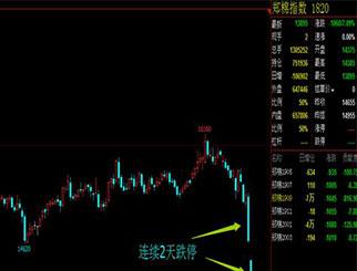 郑棉期货分析:价格暴跌所引发的下跌趋势还会继续
